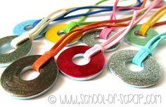 Nasce la collezione Hardware: le collane con le rondelle smaltate Hardware, Mamma, Washer Necklace, Jewelry, Party, Jewellery Making, Computer Hardware, Jewels, Jewlery