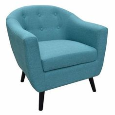 Home Decorators Collection Modern Fabric Accent Chair In Turquoise CNF1567    The Home Depot