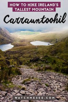 Here's a full guide to hiking Carrauntoohil, Ireland's TALLEST mountain! Ireland Hiking, Backpacking Ireland, Hiking Europe, Europe Travel Tips, Ireland Travel, Backpacking Tips, Outdoor Camping, Outdoor Travel, Ireland Weather
