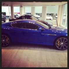 the nicest ever car known to man is finished and ready for collection!! #new #astonmartinDB9 #koboltblue