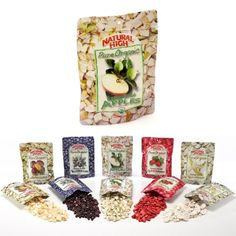 Natural High Pure Organic Freeze-Dried Apples - 12 pk - Dried Fruit & $48.25