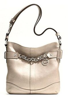 Leather Chain Duffle-1 F19722