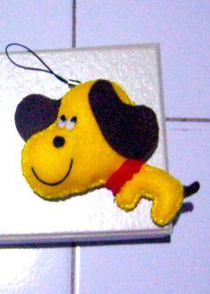 DOG   #mumucraft #feltcraft #handmade #keyring