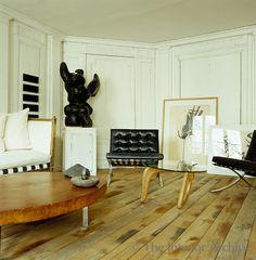 Frédéric Méchiche . Paris Apartment . Living Room .