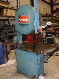"""OLIVER WOOD WORKING SAW 30""""; THROAT,VERY GOOD CONDITION, 217-D with HOWELL  MOTOR"""