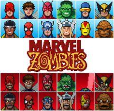 PixelArtus - Marvel Zombies Pixel Artist: ta2nb Source:...