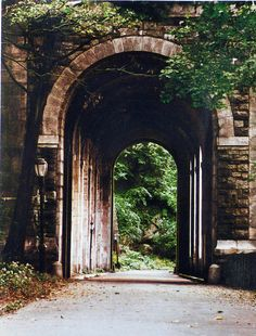 Billings Tunnel at Fort Tryon Park-Washington Heights/Manhattan/NYC