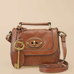 Fossil vintage re-issue small flap (without that large ass key)