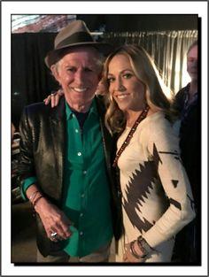 Sheryl Crow & Keith Richards: Merle Haggard Tribute Concert Bridgestone Arena Nashville, TN. (04/06/2017)