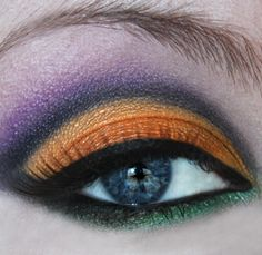 Halloween Inspired Eyes