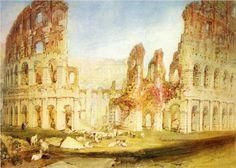 Rome, The Colosseum - William Turner