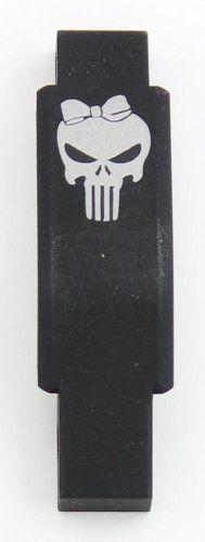 Trigger Guard Magpul Enhanced Laser Engraved Skull Female Molon Labe Engraving