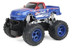 Remote Control Monster Truck – For little boys, small remote control cars are great. But when they get older, they want BIG trucks! The bigger the better.
