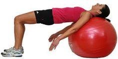 RUGOEFENINGEN-Stabiliteitsoefening met bal
