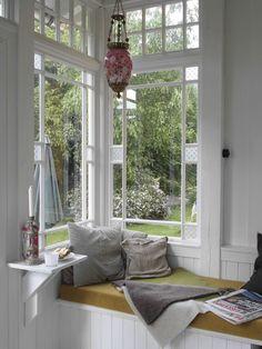 pencere onu dinlenme kosesi dekorasyonlari