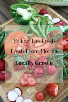 Buy locally grown for a just picked fresh flavor.  Follow the fresh!  Fresh from Florida.  @freshfromfl  #FollowTheFresh #IC  #ad