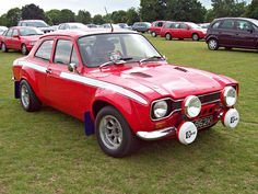 Ford Escort Mk.I Escort Mk1, Ford Escort, Ford Rs, Car Ford, Retro Cars, Vintage Cars, Ford Motorsport, Ford Classic Cars, Old Fords