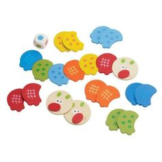 #gry Gra Łączenie Gąsienicy, Manhattan Toy - PomocnicyMamy.pl, cena 29,9