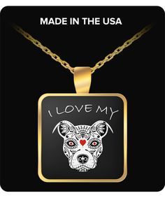 I love my pitbull Pendant Funny Mugs, Funny Gifts, Mom Birthday, Birthday Gifts, Memorable Gifts, Dog Lover Gifts, Gifts For Dad, Valentine Gifts, Baby Shower Gifts