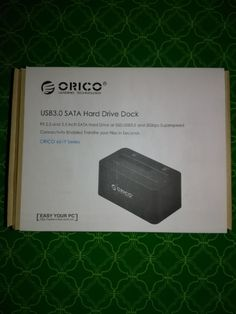 Day 5 Of The 7 Days Of International Giveaways! Win An Orico USB3.0 SATA Hard Drive Dock!