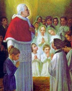 St. Pius the Tenth, Pope and Confessor Mass Propers | Maria Angela Grow