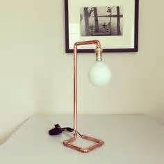 lampes cuivre et bois diy - Ecosia