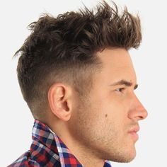Short Quiff Haircut For Men