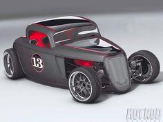 Hot Rod Magazine car