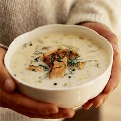 Leek and Fennel Chowder with Smoked Salmon- *could get some smoked salmon at the winter farmer's market...
