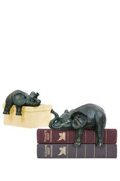 Sterling Sprawling Elephants