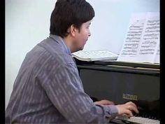 Alex Kurbanov (piano) - Nikolai Rimsky-Korsakov, Fuge i d-moll, op. 17 nr. 1