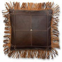 Butte Fringe Pillow! See other Pillows to Accessorize with at http://www.highcamphome.com/store/index.php?cPath=188_270
