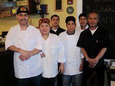 Mekhala and Eddie Nippita with their staff at Durian Thai Restaurant