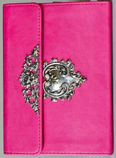 Decorated KJV Compact New Testament Pink