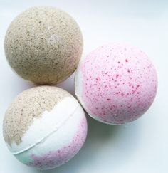 Neapolitan Bath Bomb - just what I need for the glass hurricane in the master bath
