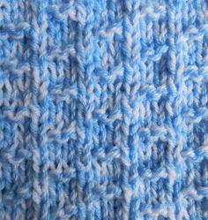 Nevis Chunky Baby Blanket | This knit baby blanket is as cute as can be.