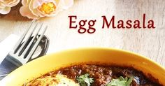 Egg Masala / Muttai Masala is a great side dish for a nor roti or chappathi or even Rice. Actually, I am not a big fan of egg...