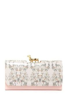 Ted Baker Matinee Wallet..love that dachshund clasp...is it a dachshund?