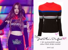 Just Plain Perfect: f(x) Krystal Jung Stage Outfit 10/29/15