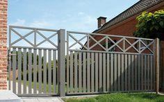 Sliding Gate, Fence Design, Modern Design, Street View, House Design, Outdoor Decor, Home Decor, Greenfinch, Modern
