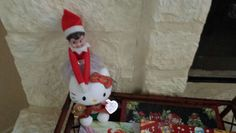 The Elf on the Shelf -Day 5- Gingerbread Hello Kitty