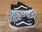 Vintage VANS OLD SKOOL USA sneakers skate shoes BLACK NOS size 9 MIB NOS OG