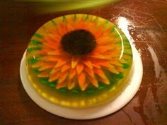 3D jello/ Claudia made this at the tea party