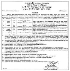 Job Circular-চাকরির খবর : Ministry of Women  and  Children Affairs New Job C...