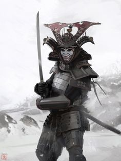 The assassin Samurai by David Benzal | Illustration | 2D | CGSociety
