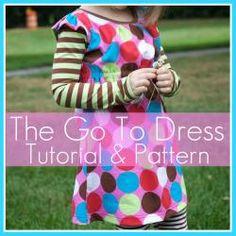 go to girls dress pattern