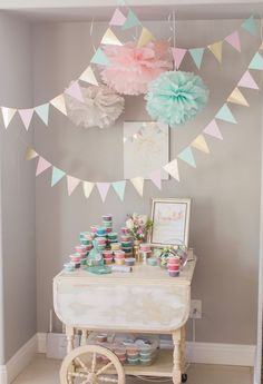 Marigold Mom | Magical Pink, Gold & Mint Unicorn Birthday Party More