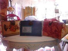 Vintage book purses