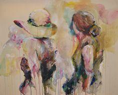 """""""Formung"""", Acryl auf Leinwand, 125 x 100 cm"""