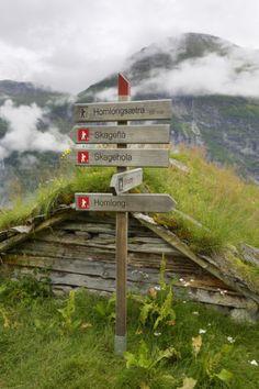 Homlongsaetra Mountain Farm, More Og Romsdal, Norway